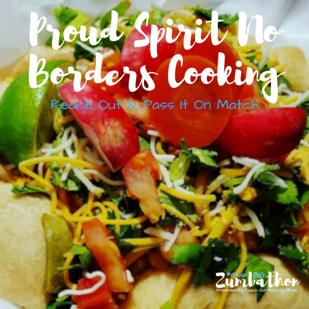 Proud Spirit No Borders Cooking Thank You Post