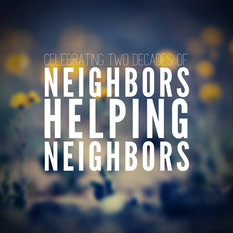 Neighbors Helping Neighbors Website